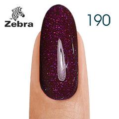 Гель лак Zebra  №190