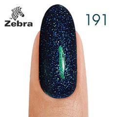 Гель лак Zebra  №191