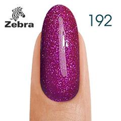 Гель лак Zebra  №192