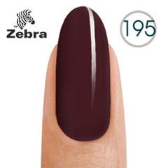 Гель лак Zebra  №195