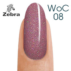 Гель лак Zebra woman charm 8