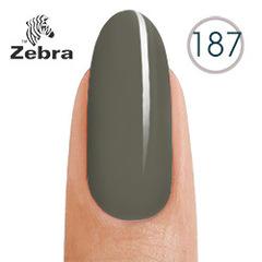 Гель лак Zebra 187