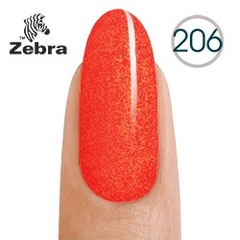 Гель лак Zebra №206