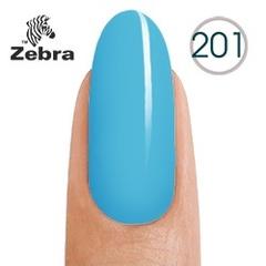 Гель лак Zebra №201