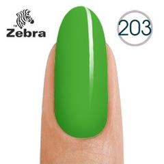 Гель лак Zebra №203