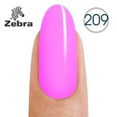 Гель лак Zebra №209