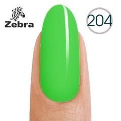 Гель лак Zebra №204