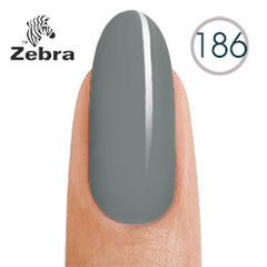 Гель лак Zebra 186